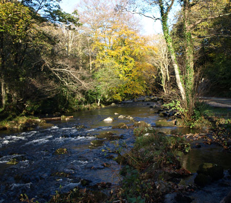 Afon Artro bron Llanbedr.