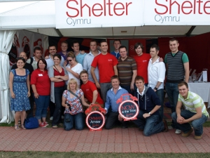 Only Men Aloud and Shelter Cymru