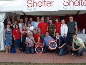 Only Men Aloud and Shelter Cymru
